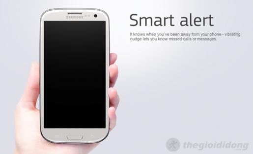 Samsung Galaxy Grand với tính năng Smart Alert