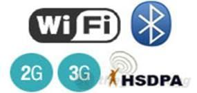 Hisense F1 hỗ trợ đầy đủ các kết nối không dây phổ biến