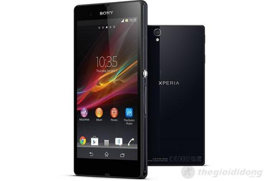 Thiết kế đầy góc cạnh của Sony Xperia Z