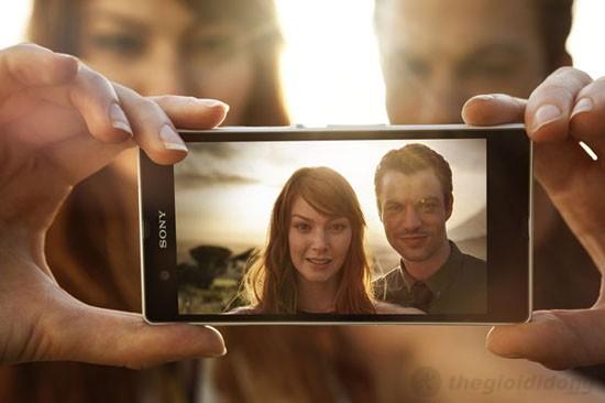 Camera 13mpx của Xperia Z cho hình ảnh sống động