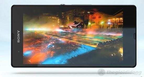 Màn hình 5 inch của Xperia Z với công nghệ hình ảnh tiên tiến
