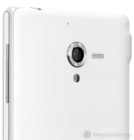 Camera cảm biến 13MP phía sau của Sony Xperia ZL