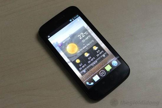 Q-Smart S22 - Widget thời tiết khá đẹp và nhiều hiệu ứng đồ họa bắt mắt khác