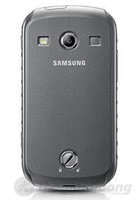 Mặt sau Samsung Galaxy Xcover 2 S7710 với thiết kế chốt đặc biệt