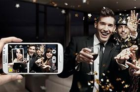 Samsung Galaxy S4 có thể chụp ảnh bằng camera kép