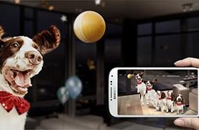 Samsung Galaxy S4 có thể chụp ảnh hiệu ứng di chuyển
