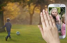 Samsung Galaxy S4 có thể vuốt mà không cần chạm