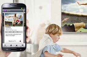 Samsung Galaxy S4 có tính năng xem tivi trực tiếp