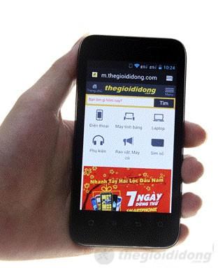 K-Touch SmartPro với hệ điều hành Android 4.0.4