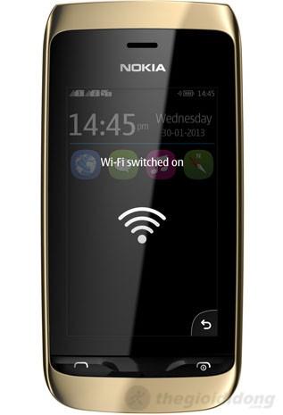 Nokia Asha 310 hỗ trợ kết nối wifi