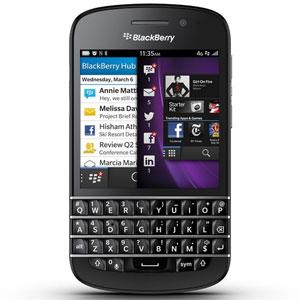 Xem bộ sưu tập đầy đủ của Điện thoại di động BlackBerry Q10