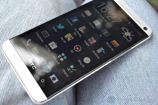 Giao diện Menu của HTC One