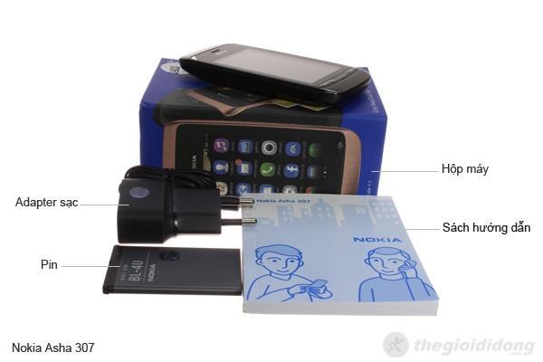 Bộ bán hàng chuẩn của Nokia Asha 307