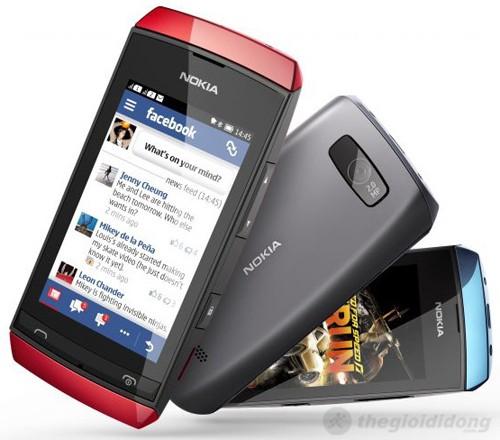 Nokia Asha 307 Nhỏ gọn và chắc chắn