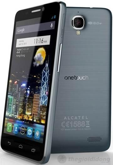 Thiết kế đẹp mắt của Alcatel One Touch Idol 6030D