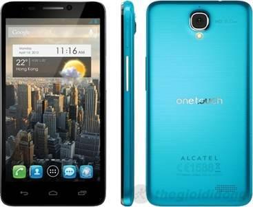 Alcatel One Touch Idol 6030D- Siêu mỏng và nhẹ