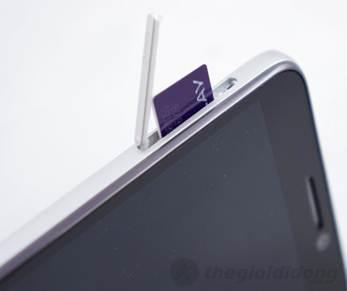 Alcatel One Touch Idol 6030D hỗ trợ hai sim hai sóng