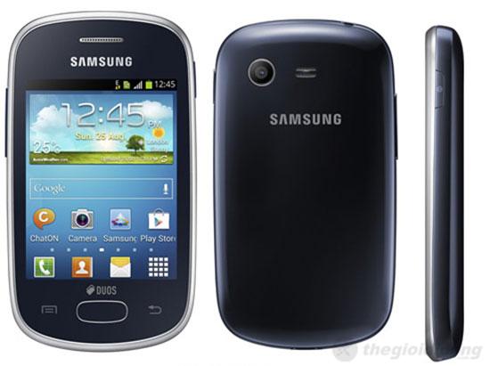 Galaxy Star Duos S5282 điện thoại bình dân, chạy Android v4.1.2