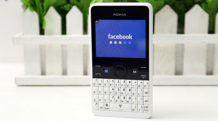 Nokia Asha 210 Dual SIM Facebook Button