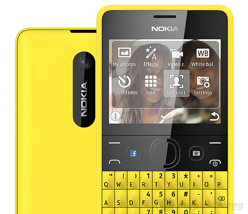Nokia Asha 210 Dual với camera 2MP