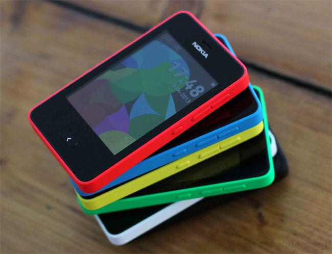 Thiết kế tươi mới của Nokia Asha 501