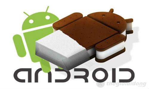 Máy sử dụng hệ điều hành Android 4.0.4