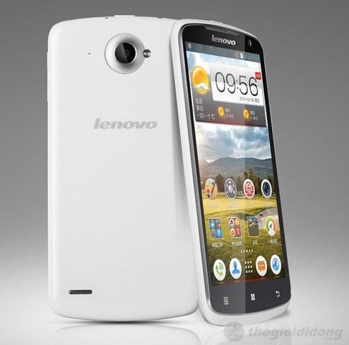 Lenovo S920 có thiết kế khá đẹp mắt