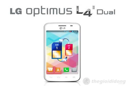 LG Optimus L4 II Dual smartphone 2 SIM 2 sóng