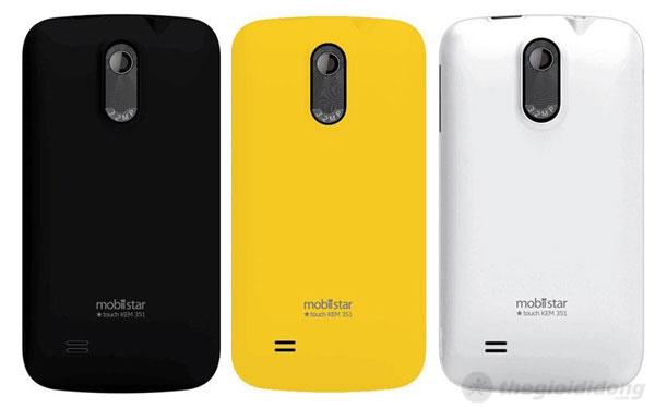 Mobiistar Touch Kem 351 với nhiều màu sắc và sang trọng