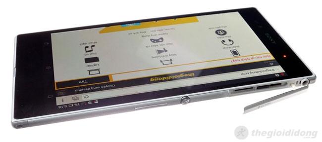 Sony Xperia ZU hỗ trợ đầy đủ các kết nối cao cấp