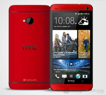 HTC One Red có máy ảnh sau 4.0 UltraPixel