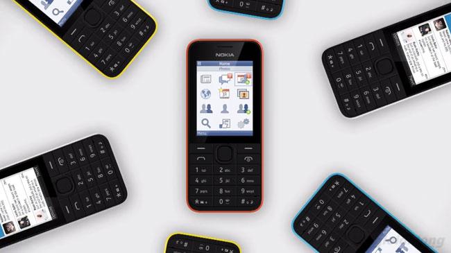 Nokia 208 chia sẻ dữ liệu nhanh chóng