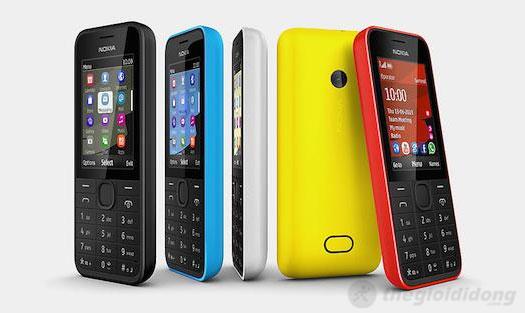 Thiết kế trẻ trung và bền bỉ của Nokia 208