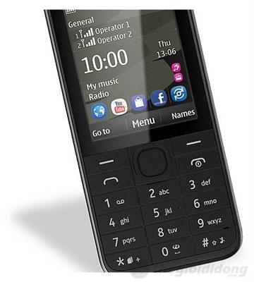 Nokia 208 hỗ trợ mạng xã hội