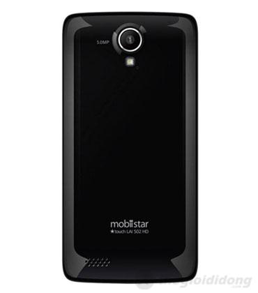 Phía sau Mobiistar Touch Lai 502 HD là chiếc camera 5MP và đèn trợ sáng