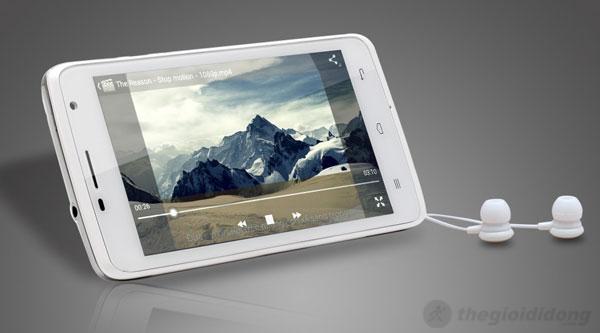 Touch Lai 502 HD ấn tượng với khả năng giải trí đa phương tiện