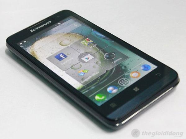 Lenovo P770 có màn hình IPS 4.5 inch cho góc nhìn tốt