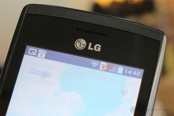 Màn hình của Optimus L1 II E410 nhỏ chỉ 3inch nên điện năng sẽ hao rất ít