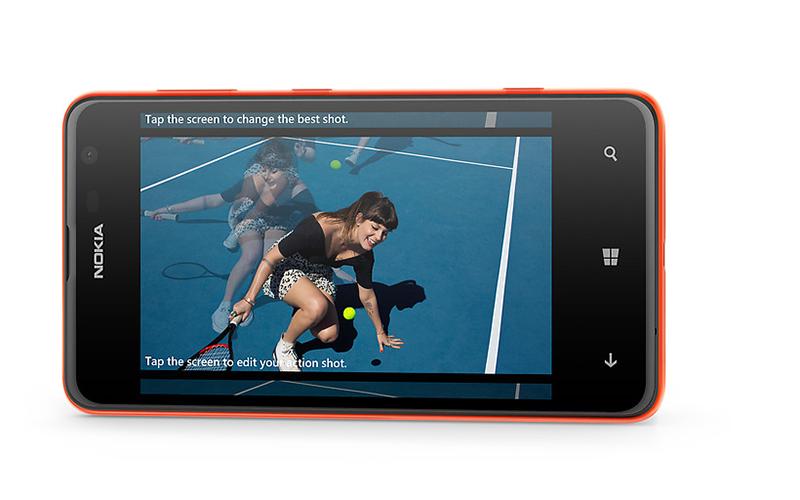 Camera 5.0MP hỗ trợ tính năng Smart Camera