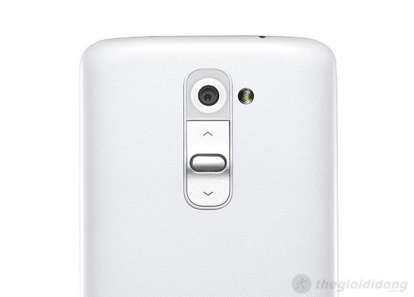 Mặt sau LG G2
