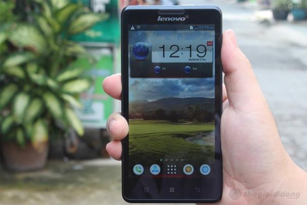 Lenovo P780 bản nâng cấp đáng giá
