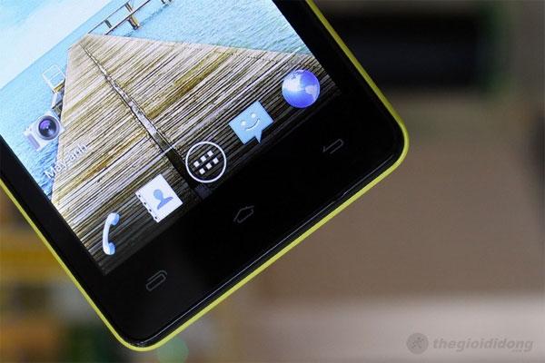 HĐH Android phiên bản mới 4.2.2. Jelly Bean trên Mobell Nova F