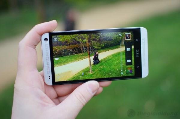 Camera phía sau HTC One chỉ 4MP nhưng sức mạnh thì khá bất ngờ