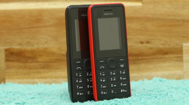 Máy có kiểu dáng gần như nguyên mẫu so với các dòng máy nghe gọi của Nokia