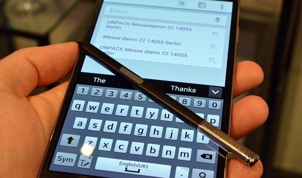 Samsung Galaxy note 3 cùng bút S pen
