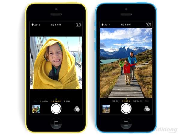 iPhone 5C với máy ảnh chỉ 8MP, nhưng chất lượng thì không cần phải bàn