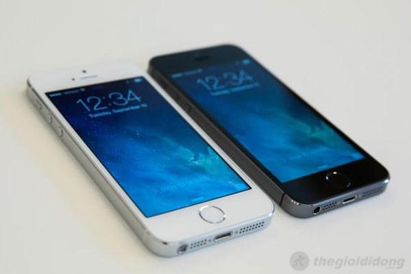 Chip A7 mới nhất của Apple giúp Iphone 5S chạy mượt mà