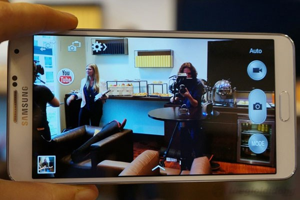 Camera 13MP trên Galaxy Note 3