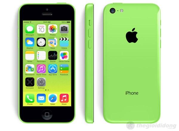iPhone 5C – Thanh kẹo đa sắc màu