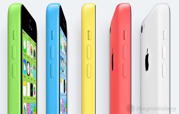 Các góc cạnh trên iPhone 5C được bo tròn nhẹ nhàng